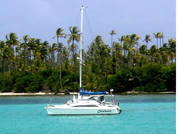 The catamaran sailing tour is for sure the best way to explore the Archipelago of Bocas del Toro in Panama