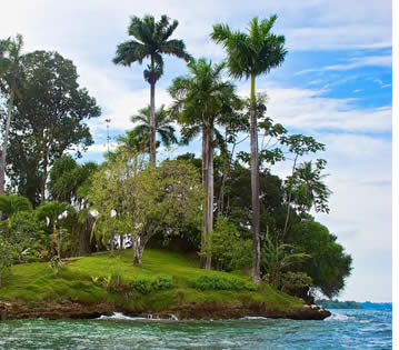 Hospital Point on Isla Solarte in Bocas del Toro, Panama