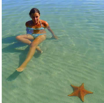 Starfish Beach on Isla Colon, Bocas del Toro, Panama